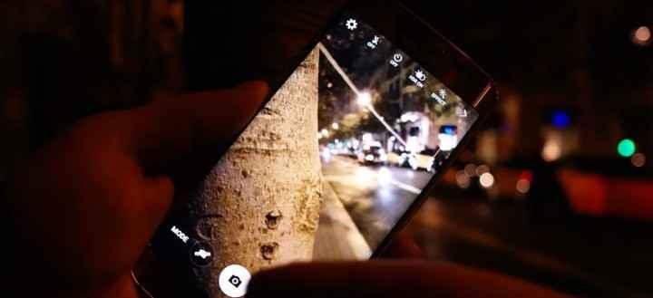 Камера Samsung Galaxy S6 Edge в условиях низкой освещенности