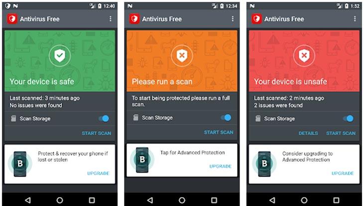Bitdefender Antivirus для Андроид