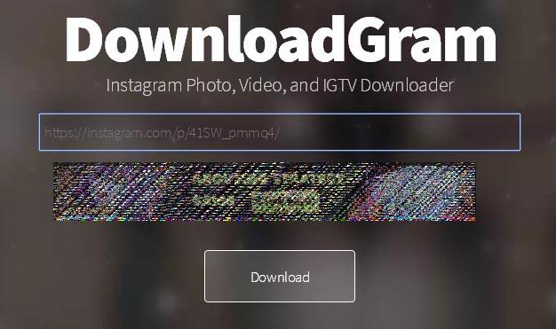 Скачивание видео из инстаграм