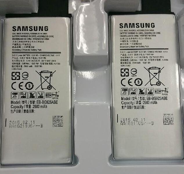 Аккумуляторы Galaxy S6