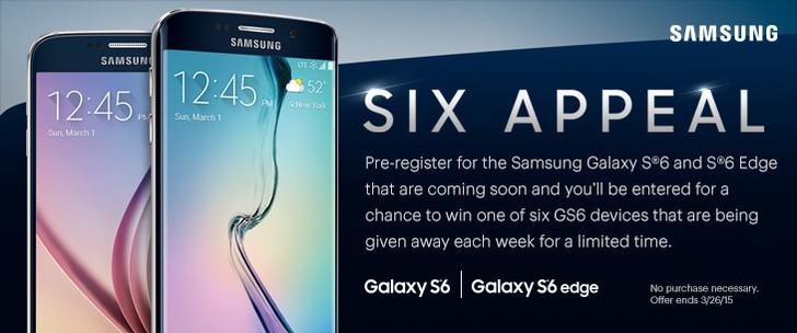 Sprint показал Galaxy S6 и Galaxy S6 Edge