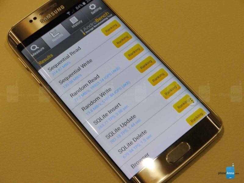 Новый тип памяти в Galaxy S6 - это нечто невероятное