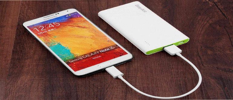 Обзор переносной зарядки для телефона самсунг