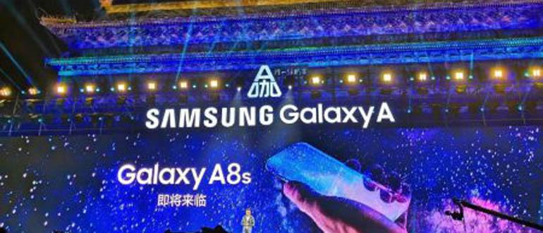 Самсунг Галакси A8s презентация, дата выхода